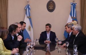 El gobernador y el administrador de AFIP analizaron la situación fiscal de la provincia