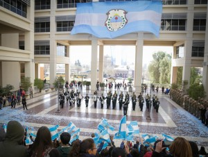 Con el relevo de la Guardia de Honor se recordó al General San Martín