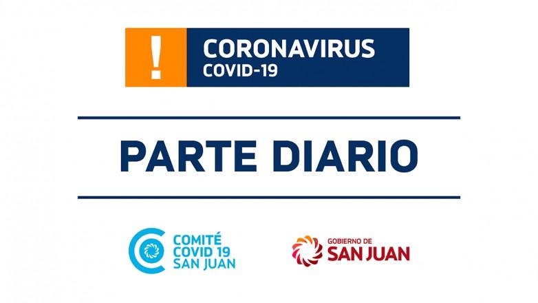 Parte de Salud Pública sobre coronavirus Nº72 - 21/05