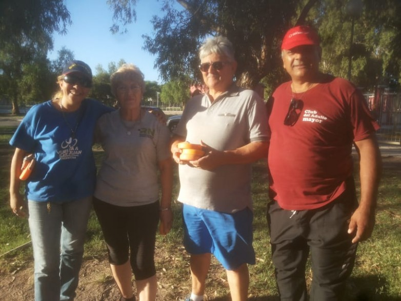 El Club del Adulto Mayor se prepara para competir en Mendoza