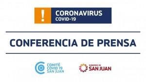 Conferencia de prensa digital del Ministerio de Salud 26/5