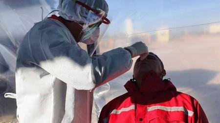 Se realizan hisopados a los transportistas que ingresan a la provincia
