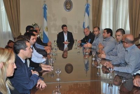 Sergio Uñac recibió a la selección de amputados
