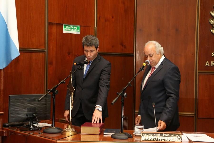 Juró el Gobernador Sergio Uñac