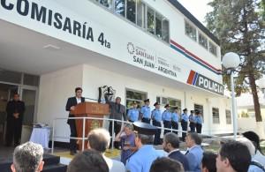 Baistrocchi inauguró obras en la Comisaría 4º