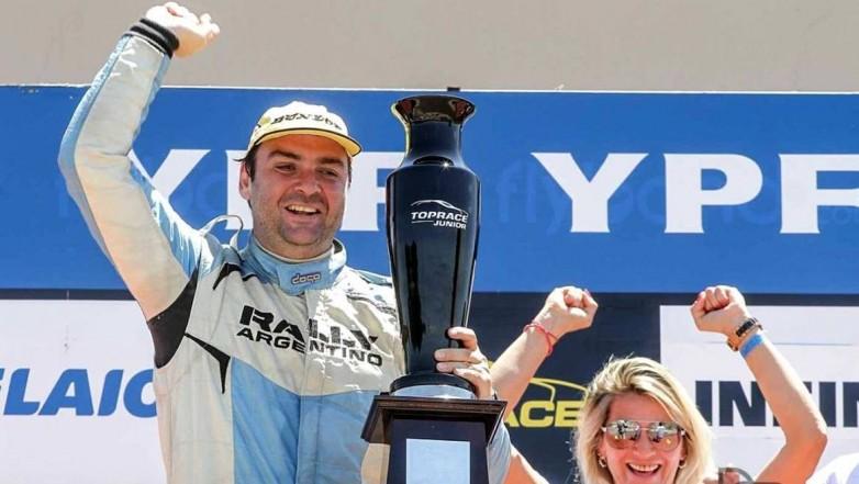 Ariel Persia se consagró campeón del Top Race Junior