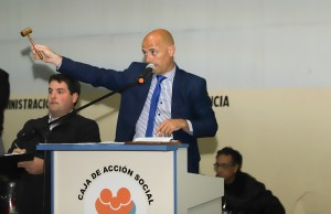 La Caja de Acción Social concretó el remate de cuatro movilidades