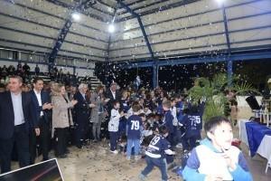 Habilitaron el techado e iluminación en el Concepción Patín Club