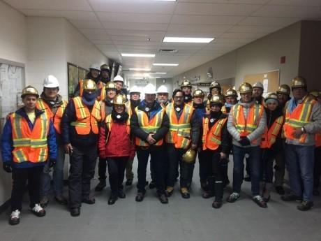 Empresarios sanjuaninos visitan minas en Canadá