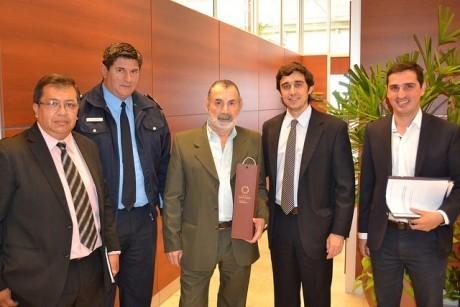 Reunión con el Director Nacional de Coordinación de Emergencias