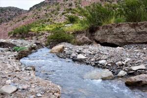 Cascada Santa Clara: sanjuaninos conocieron la belleza natural de Pedernal