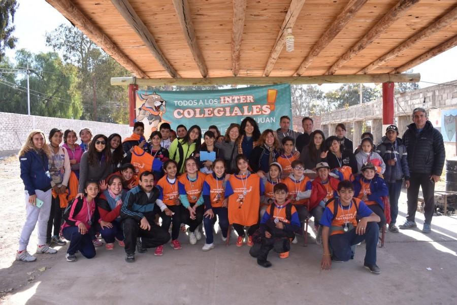 Comenzaron los Juegos Intercolegiales en su etapa provincial