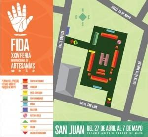 Más de 230 artesanos en la FIDA XXIV