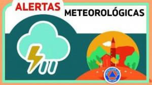 Alerta Meteorológico N° 15 - Precipitaciones aisladas