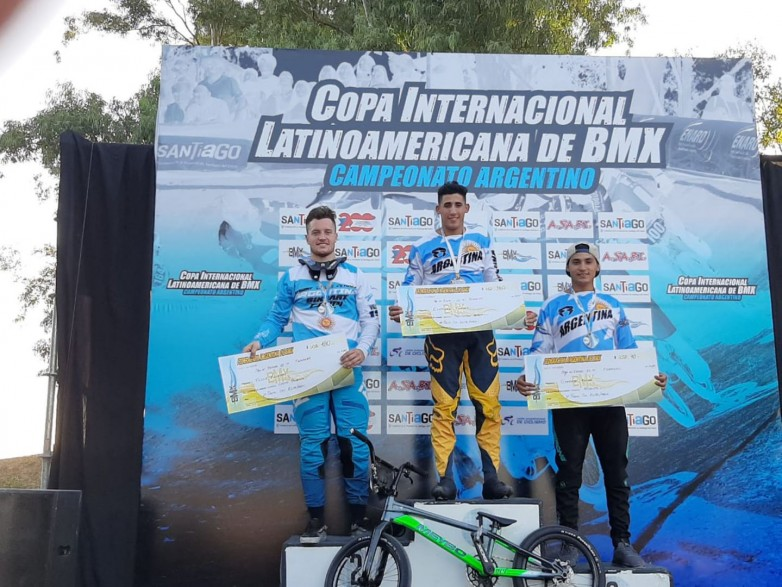 Chalo Molina subió al podio en la Copa Latinoamericana