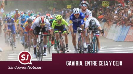 Gaviria, entre ceja y ceja | #SanJuanEnNoticias
