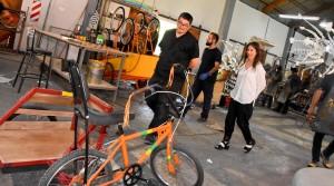 El taller de utilería consolida su trabajo en la Fiesta Nacional del Sol