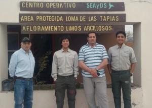 Loma de las Tapias fue parte del Encuentro Radial de Parques Nacionales