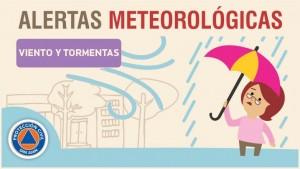 Alerta meteorológica N° 55/19 - Viento y lluvias