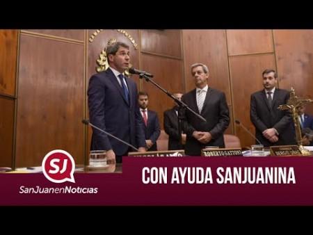 Con ayuda sanjuanina | #SanJuanEnNoticias