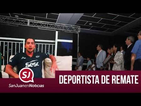 Deportista de remate | #SanJuanEnNoticias