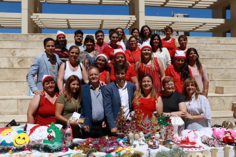 Talleres Comunitarios cerró su gestión con una gran Feria Navideña