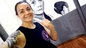 Cecilia Román dictará un taller de boxeo