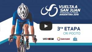 Volvé a ver la tercera etapa de la Vuelta a San Juan 2019