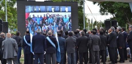 Doble jornada de homenaje a los héroes de Malvinas