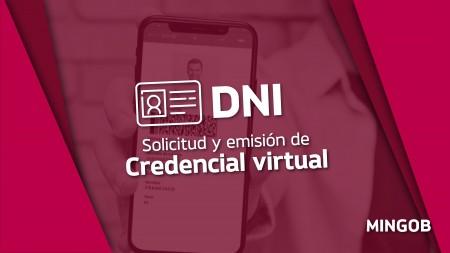 Ya se puede gestionar la credencial virtual del DNI para celulares