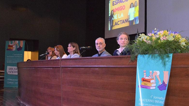Salud lanzó con una importante concurrencia las Jornadas de Materno Infancia