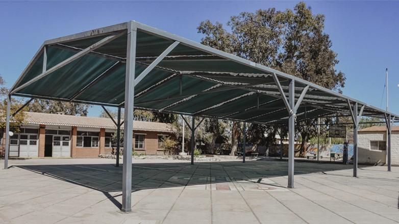 Realizaron tareas de mantenimiento edilicio en la Escuela Gabriela Mistral
