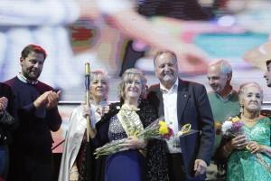 María Mercedes Pérez fue elegida reina del Adulto Mayor 2019