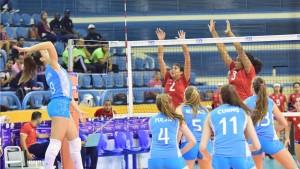 Victoria de Argentina ante Puerto Rico en el Mundial U18 de vóley