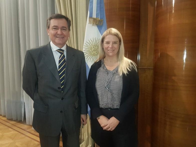 Hensel expuso las ventajas de la minería sanjuanina a las nuevas autoridades nacionales