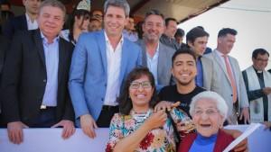 """Sergio Uñac en Jáchal: """"Las esperanzas de los sanjuaninos las cumplimos entre todos"""""""