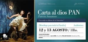 Una ninfa cautivará a los pequeños en el Teatro del Bicentenario