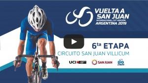 Volvé a ver la sexta etapa de la Vuelta a San Juan 2019