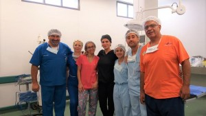 Se realizó con éxito una histerectomía en el Hospital Ventura Lloveras
