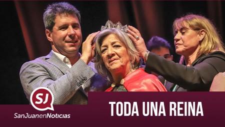 Toda una reina   #SanJuanEnNoticias