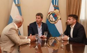 Sergio Uñac recibió a especialista en Medicina Genómica