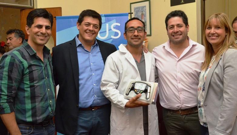 El CAPS de Campo de Batalla tuvo un reconocimiento a su esfuerzo en la atención a los pacientes. Fotos: Facundo Quiroga