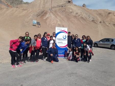 Jornada de trekking para Comunidad en Movimiento