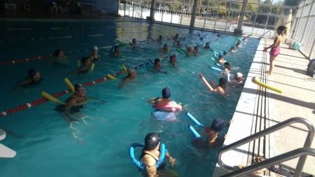 Se cierra el año de natación para el Club de Adulto Mayor