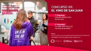 """Lanzan el concurso XR """"El vino de San Juan"""""""