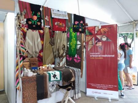El Mercado Artesanal de San Juan fue reconocido en Cosquín