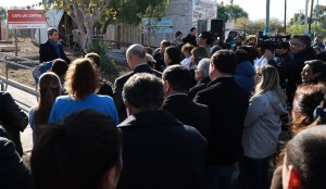 Uñac inauguró obras de refacción, refuncionalización y ampliación el Centro de Atención Primaria Las Lomitas en Albardón