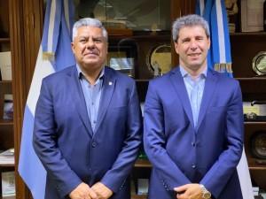 El presidente de AFA le agradeció a Uñac por recibir al Sub-20 femenino