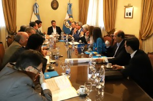 Sergio Uñac convocó a reunión de gabinete