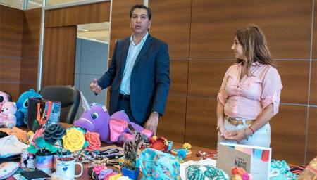 La renovada Dirección de Emprendedores Sociales fue presentada en sociedad